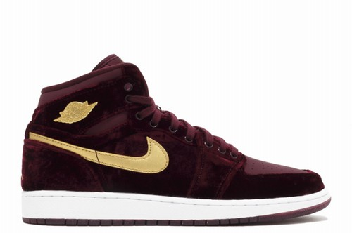 Air Jordan 1 GS Night Maroon