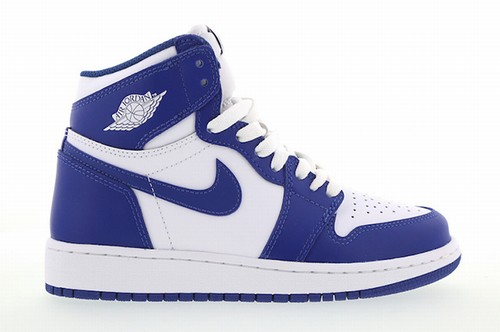 Air Jordan 1 White Storm Blue