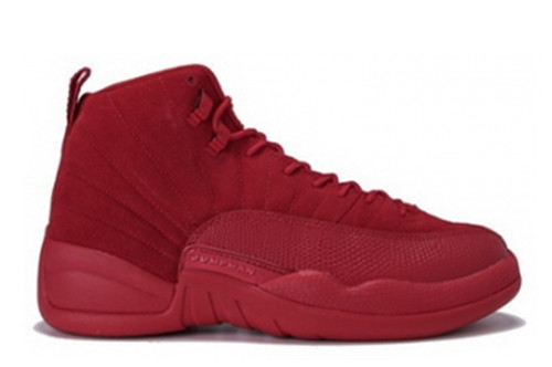 Air Jordan 12 Red Suede