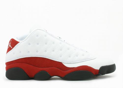 Air Jordan 13 Low White Red