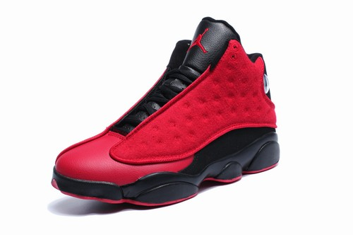 Air Jordan 13 Wool Black Red