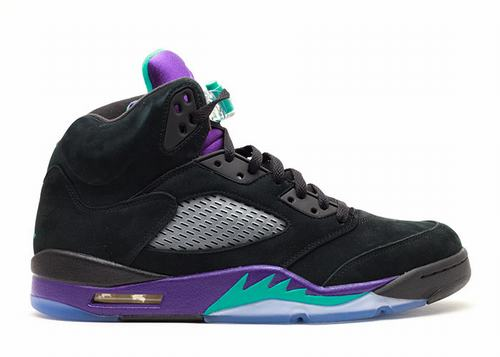 Air Jordan 5 Black Grape