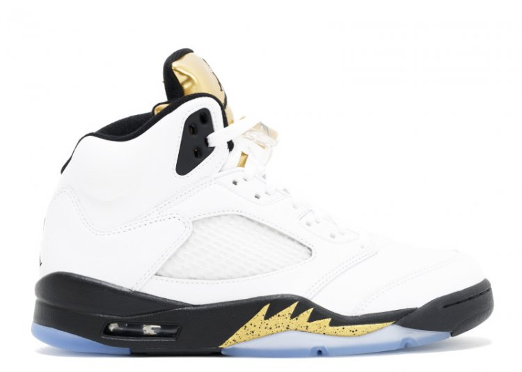 Air Jordan 5 Retro Gold Tongue