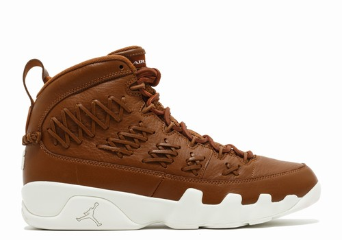 Air Jordan 9 Brown Leather Baseball Glove