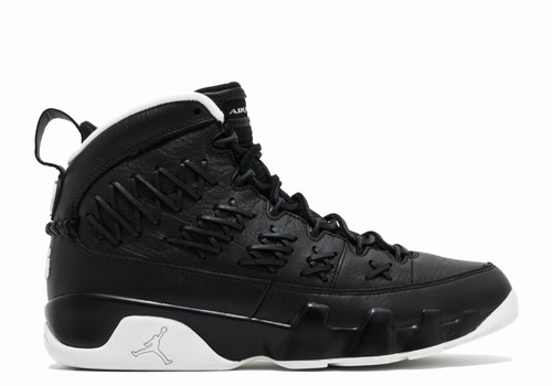 Air Jordan 9 Pinnacle Baseball Pack Black/White