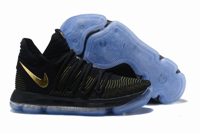 Nike KD 10 Shoes Black Yellow