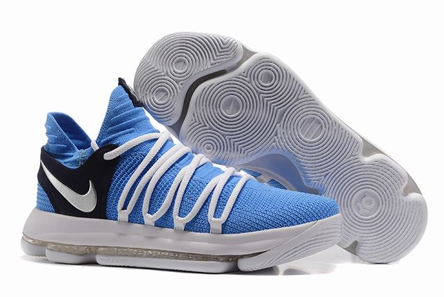 Nike KD 10 Shoes Lake Placid Blue