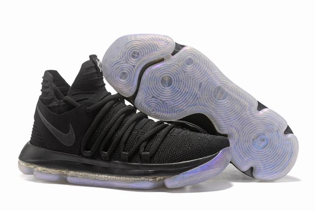Nike KD 10 Shoes Pure Black