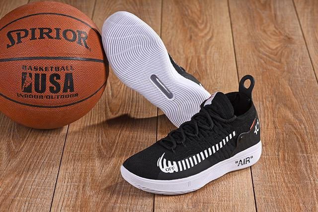 Off-white x Nike KD 11 Union Shoes Black White