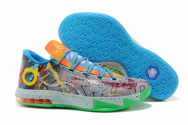 Nike KD 6 Shoes Mandarin Duck