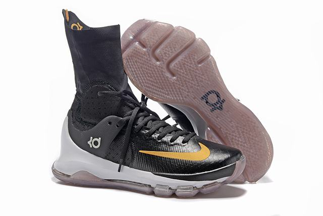 Nike KD 8 Shoes Elite Black Gold