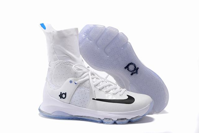 Nike KD 8 Shoes Elite White Black