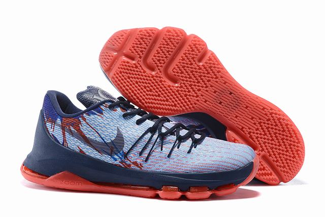 Nike KD 8 Shoes Low Independence Day