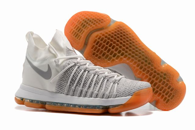 Nike KD 9 Shoes Ivory White