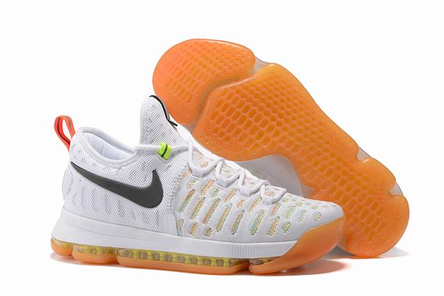 Nike KD 9 Shoes Limited Edition White Colors