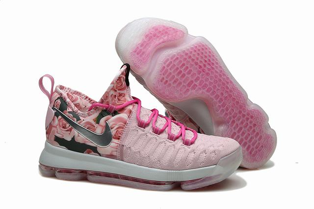 Nike KD 9 Shoes Pink Black