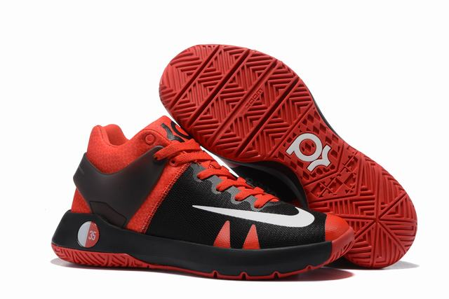 Nike KD Trey 5 Shoes Red Black White