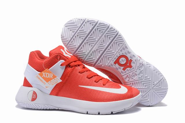 Nike KD Trey 5 Shoes Red White
