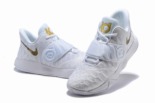 Nike KD Trey 5 VI Weave Shoes White Gold