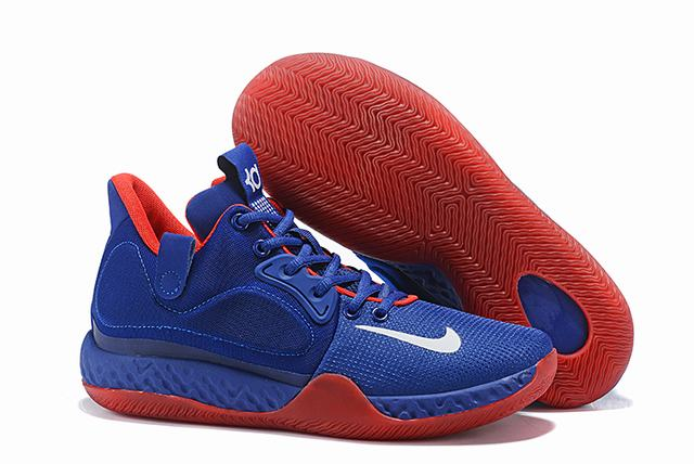 Nike KD Trey 6 Shoes Royal Blue Red