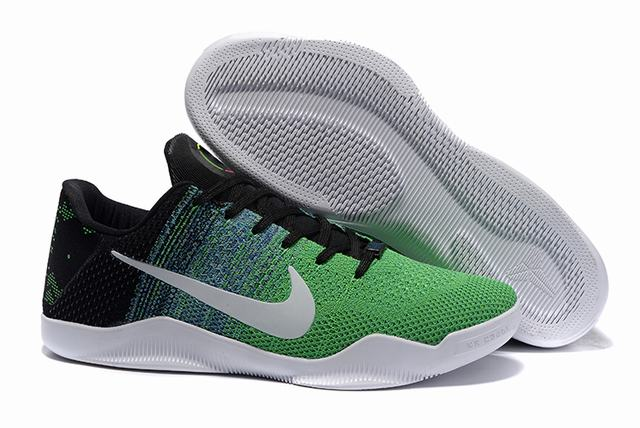 Kobe 11 Shoes Black Green