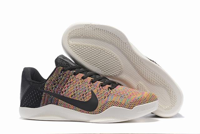 Kobe 11 Shoes Rainbow Black