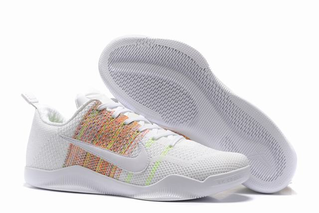 Kobe 11 Shoes Rainbow White Limited Edition