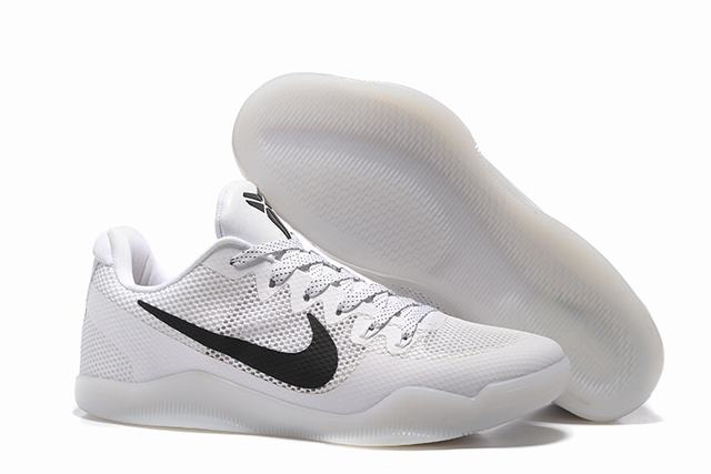 Kobe 11 Shoes White Black