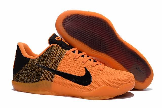 Kobe 11 Shoes Yellow Black