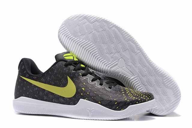 Nike Kobe 12 Shoes Black Yellow