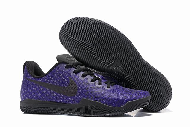 Nike Kobe 12 Shoes Lakers Purple Black