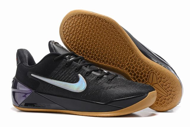 Nike Kobe AD 12 Air Cushion Shoes Black Silver Colors
