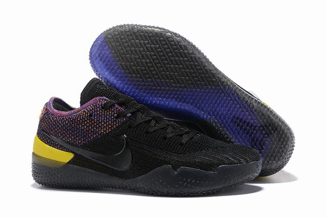 Nike Kobe 360 Shoes Black Rainbow