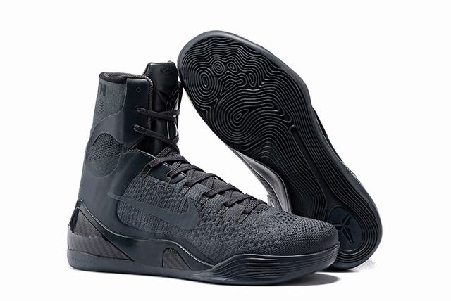 Kobe 9 Shoes Elite Charcoal Grey