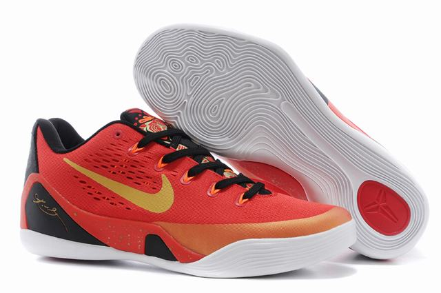 Kobe 9 Shoes Low China Red