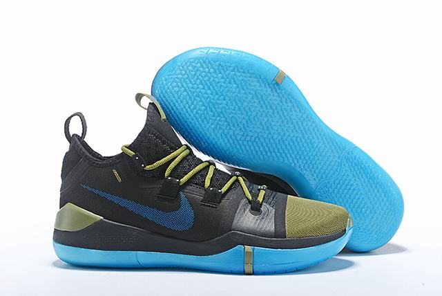 Nike Kobe AD EP Shoes Black Yellow Blue
