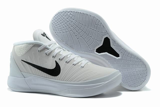 Nike Kobe AD EP Shoes Mid White Black