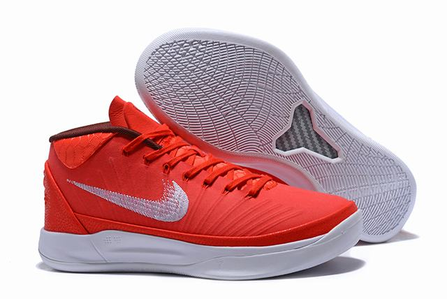Nike Kobe AD EP Shoes Red White