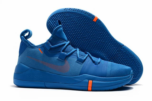 Nike Kobe AD EP Shoes Sky Blue Orange