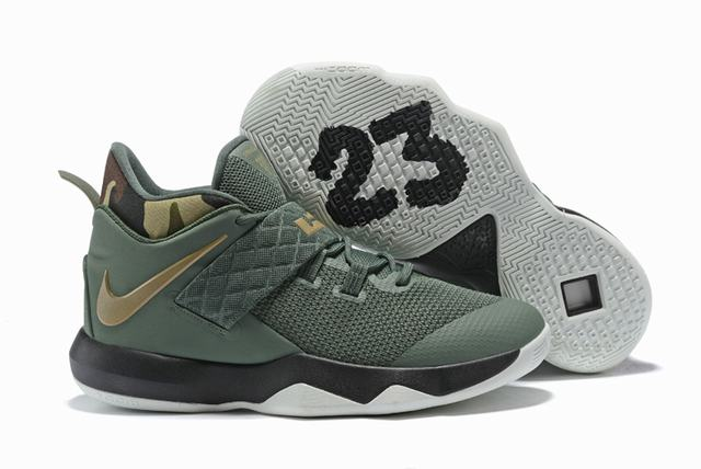 Nike Lebron James Ambassador 10 Shoes Camo