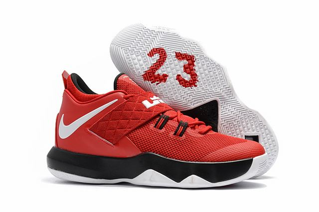 Nike Lebron James Ambassador 10 Shoes Red Black