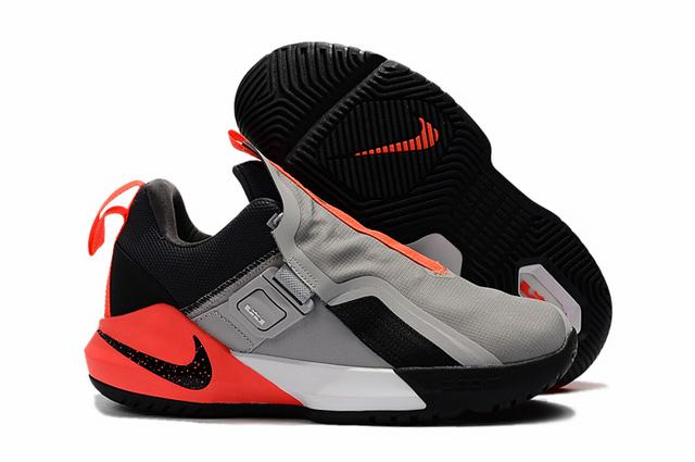 Nike Lebron James Ambassador 11 Shoes Grey Black Orange