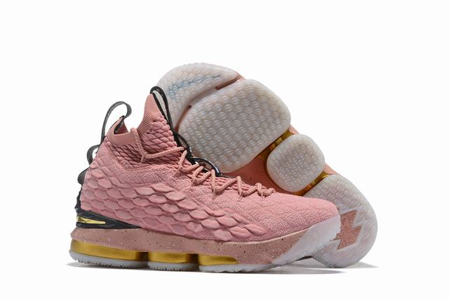 Nike Lebron James 15 Air Cushion Shoes All-star Pink