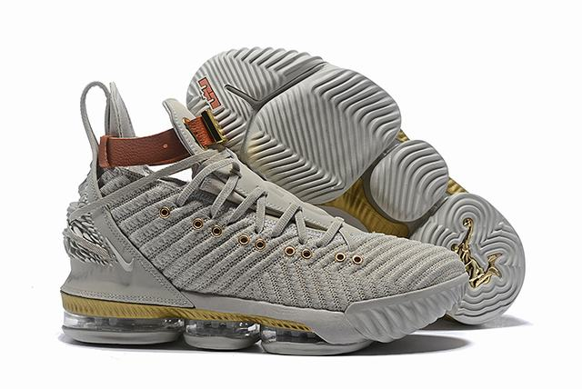 Nike Lebron James 16 Air Cushion Relief Shoes Luxury lionheart