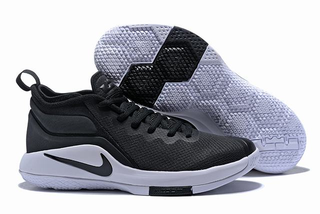 Nike Lebron James Witness 2 Shoes Black White Black