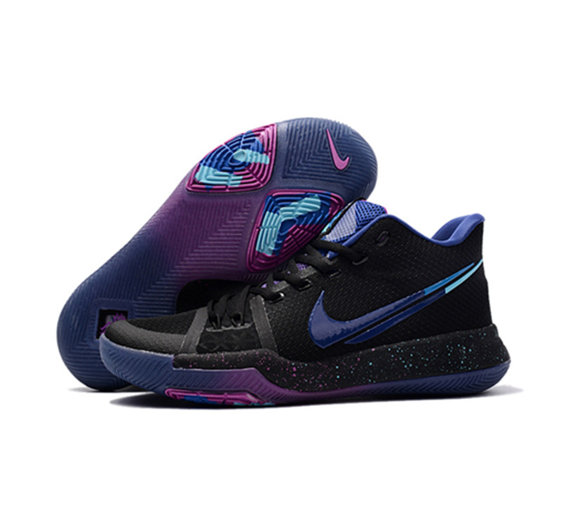 2017 Kyrie 3 Shoes dream black blue