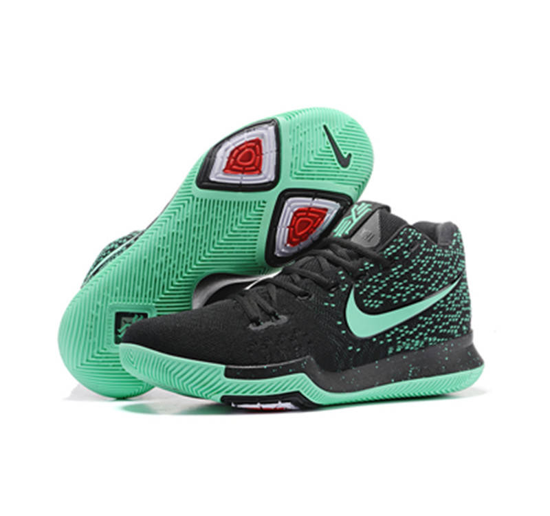 kyrie 3 shoes bluoe black