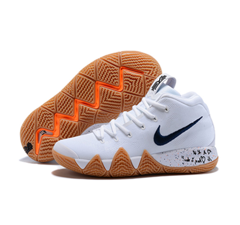 New Nike Kyire 4 Brown White