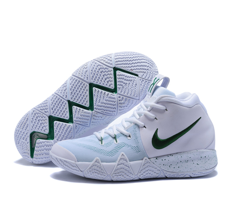 New Nike Kyire 4 Whtie Green