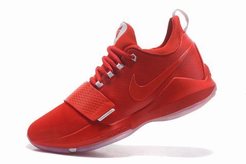 Nike Paul George Shoes PG 1 All Red